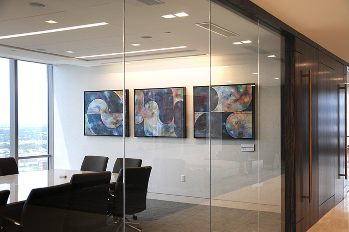 corporate art collections meeting room